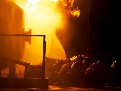 Lutte contre les incendies et détecteurs de gaz d'incendie industriels