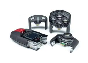 Dispositif personnel de détection de gaz avec cartouches échangeables.
