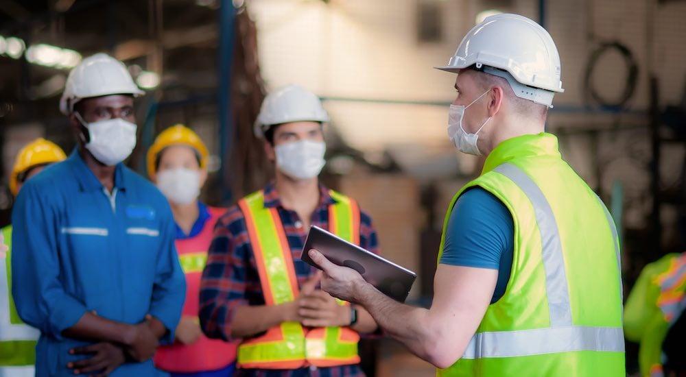 Directives OSHA COVID-19 Sécurité sur le lieu de travail