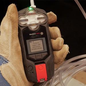 pompe de détection de gaz entrée en espace confiné