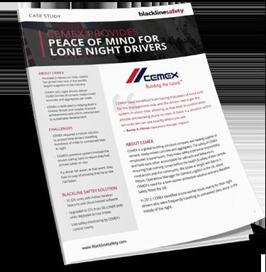 Étude de cas CEMEX pour les conducteurs de nuit isolés