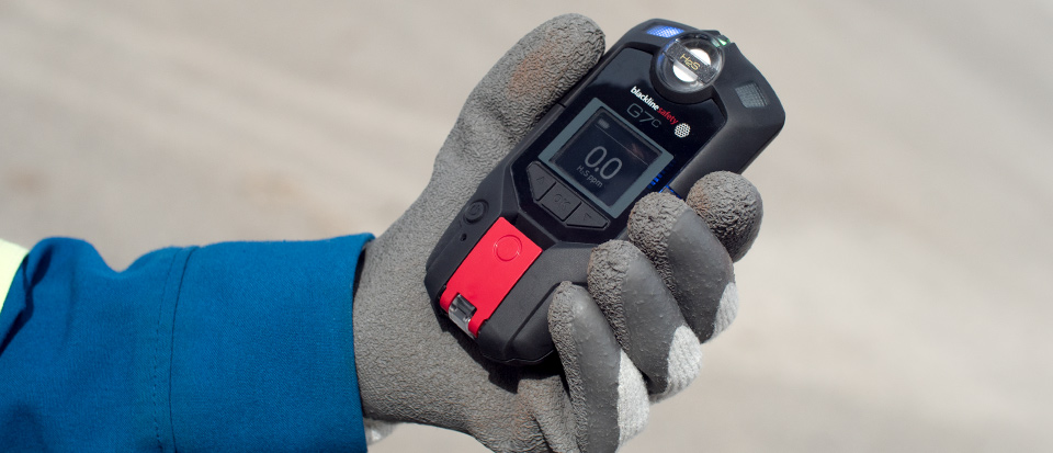 Blackline Safety G7 détecteur de gaz sans fil H2S