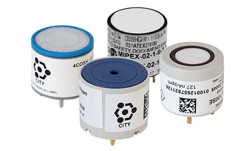 Capteurs de gaz pour les détecteurs de gaz portables