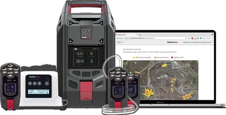 Dispositifs de détection de gaz pour le pétrole et le gaz